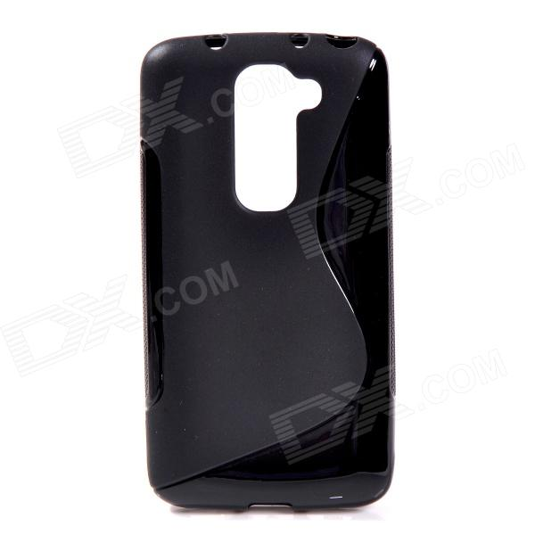 "Dx coupon: ""X"" Style Protective TPU Back Case for LG Optimus G2 Mini - Black"