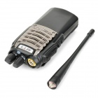 MYT-518 Handheld 7W 16-Channel 400~470MHz Walkie Talkie - Black