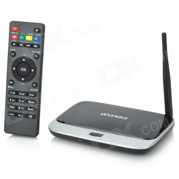 Q7V RK3188 Android Google TV Player w/ 2GB RAM, 8GB ROM - Black