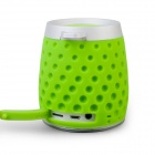 MOCREO MOSOUND Drips Waterproof Portable Wireless Bluetooth Speaker w/ Hanging Ring / TF - Green