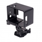 360 Degree Rotary Bacpac Frame Mount for GoPro Hero 4/3+/3 - Black