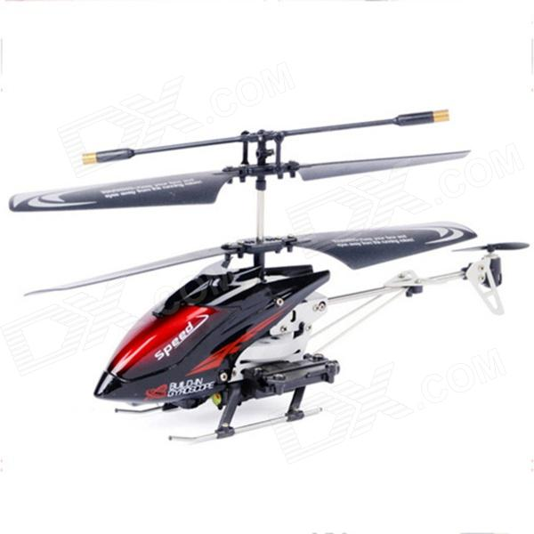 3.5-Channel Missiles Launching R/C Helicopter w/ Gyro - Red + Black