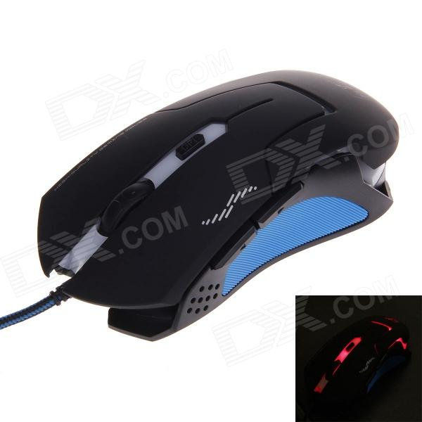 68400f9d556 X-LSWAB T7 2400 DPI Wired USB Dazzle Color Optical Gaming Mouse ...