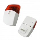 "DP-X6 7"" Full Touch Color Screen Wireless Alarm System - White"