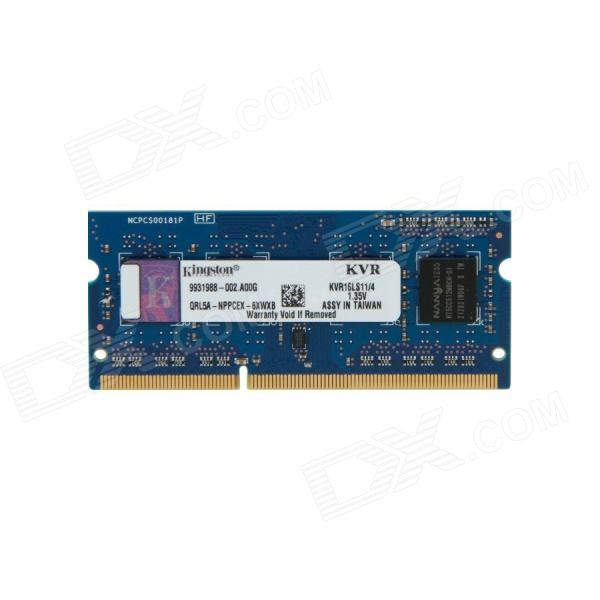 Buy Kingston ValueRAM KVR16LS11/4 4GB Laptop Memory with Litecoins with Free Shipping on Gipsybee.com