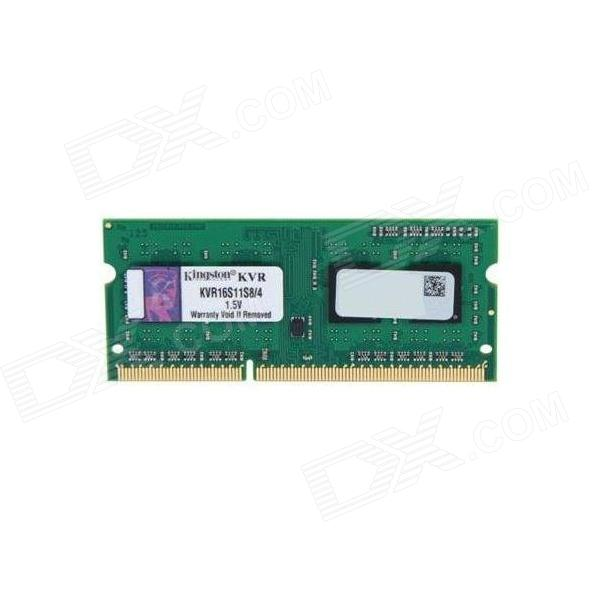 Buy Kingston ValueRAM KVR16S11S8/4 4GB Notebook Memory with Litecoins with Free Shipping on Gipsybee.com
