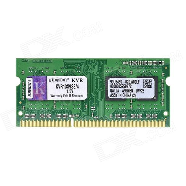 Buy Kingston ValueRAM KVR13S9S8/4 4GB Notebook Memory with Litecoins with Free Shipping on Gipsybee.com