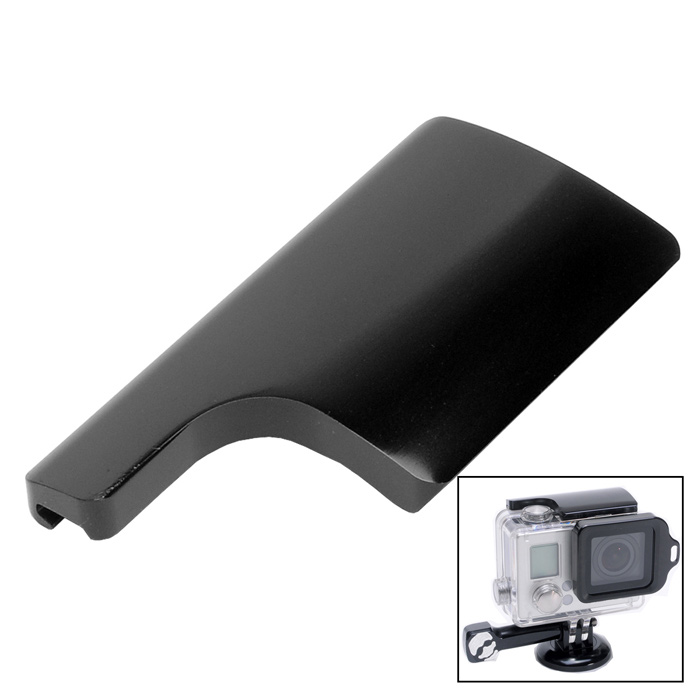 Fat Cat Back Door Clip Safety Lock for GoPro Hero 3+ Housing - Black