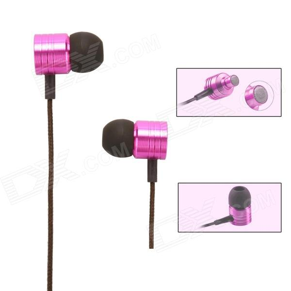 Buy XIAOMI 3.5mm Stereo In-ear Earphone for MI2 MI2S MI2A Mi1S M1, JIAYU G4, G3S, G2S - Deep pink with Litecoins with Free Shipping on Gipsybee.com