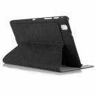 ENKAY Simple Protective PU Leather Case Cover Stand for Samsung Galaxy Tab Pro T320 - Black