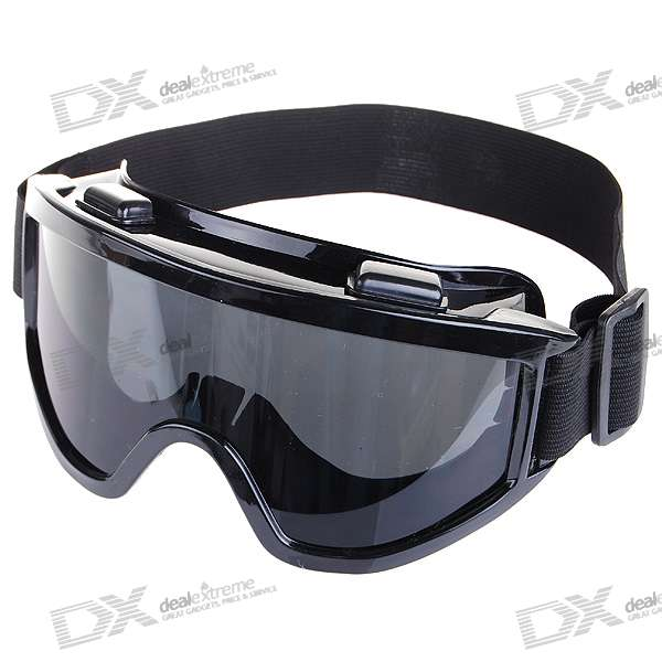 UV Protection Resin Lens Glasses/Goggles - Black