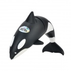 Orca Style USB 2.0 Flash Drive Disk - Black + White (16GB)