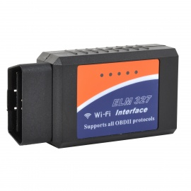 ELM327 OBD Wi-Fi Auto Car Diagnostic Tool for Phones - Black
