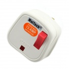 MaiTech 13A 2000W Spina di alimentazione w / Switch / Indicator Light - Bianco (250V)