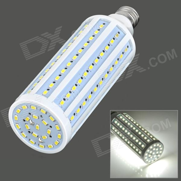 E27 25W 1800LM 132-5730 LED  Light Corn Bulb (AC 220V)--White + Silver Grey + Multi-Colored