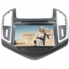 "LsqSTAR ST-8253R 8"" Touch Screen Car DVD Player w/ GPS + RDS + More for Chevrolet Cruze - Black"