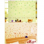 Flower / Butterfly Pattern PVC TV Wall / Bedroom / Room Decorative Wall Sticker - Coffee