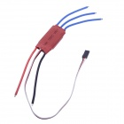 20A 500Hz Firmware ESC w / 5V 2A BEC for RC Multicopter / Helikopter - Rød (4 stk)