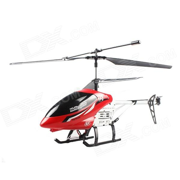 Shatterproof 3.5 Channel Remote Control Helicopter Aircraft - Red