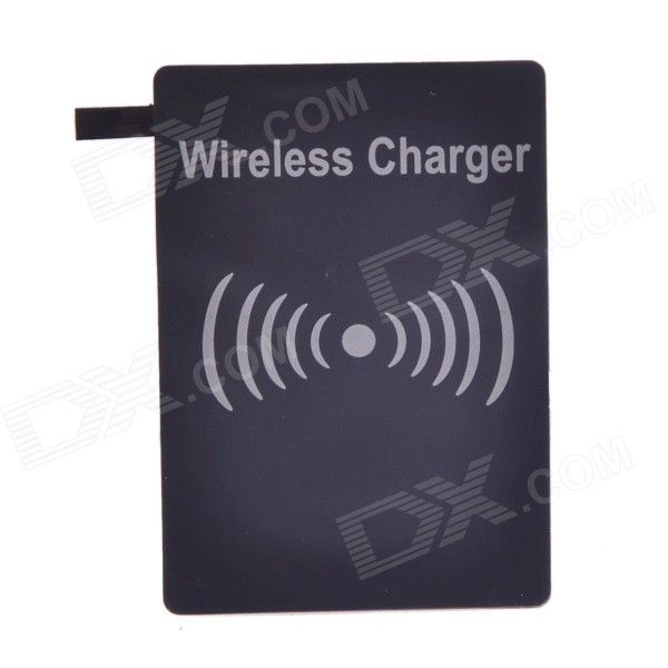 QI Wireless Charger Reciever for Samsung Galaxy S5 - BlackWireless Chargers<br>Form ColorBlackBrandN/AModelN/AMaterialFPCQuantity1 DX.PCM.Model.AttributeModel.UnitCompatible ModelsSamsung Galaxy S5Input Voltage5 DX.PCM.Model.AttributeModel.UnitOutput Current800 DX.PCM.Model.AttributeModel.UnitPower AdapterWithout Power AdapterExecutive StandardQiShade Of ColorBlackTypeOthers,N/APacking List1 x Receiver<br>