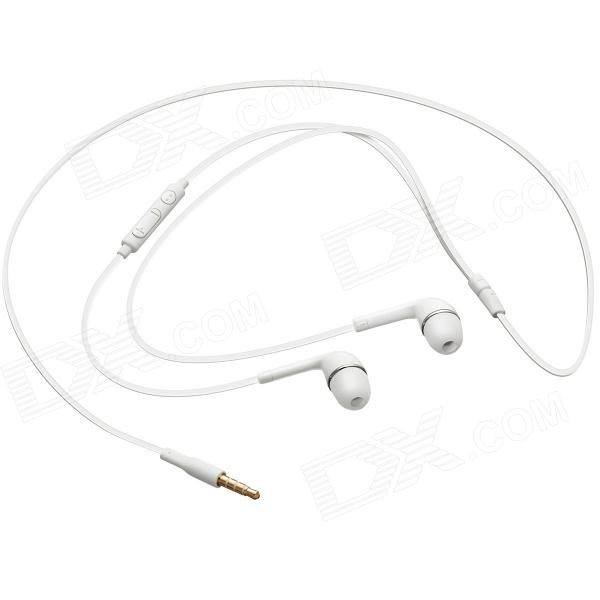 Replacement 3.5mm Premium Stereo Headset for Samsung Galaxy S4 - White