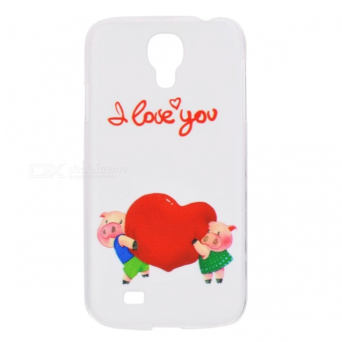 Kinston Happy Cartoon Pattern Protective Plastic Hard Back Case for Samsung Galaxy S4 i9500 - WhitePlastic Cases<br>Form  ColorWhite + MulticolorBrandKinstonModelkst00199MaterialPlasticQuantity1 DX.PCM.Model.AttributeModel.UnitShade Of ColorMulti-colorCompatible ModelsSamsung Galaxy S4 i9500Other FeaturesProtects your device from scratches, dust, shock and abrasionPacking List1 x Protective Case<br>