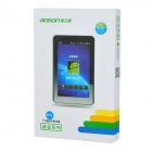 "AOSON 7"" Android 4.2 Quad-core Tablet PC w/ 3G, Wi-Fi, Bluetooth, RAM 1GB, ROM 8GB - Silver + White"