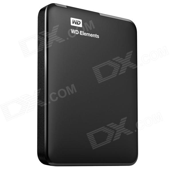 WD 2TB WD Elements Portable USB 3.0 Hard Drive Storage (WDBU6Y0020BBK-NESN)