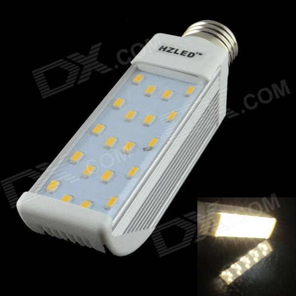 HZLED E27 10W 800LM 6000K 5630-20 SMD LED Dimmable Warm White Light Lamp - White (AC 85~265V)