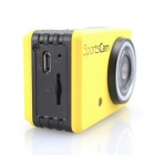 MO.MAT M200 Waterproof 720P 1.3 MP CMOS Action Sports Camera / Car DVR w/ TF/ Mini USB - Black