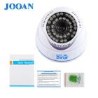 JOOAN JA-570MRB-3.6 Effio-E Surveillance Dome Camera w/ 36-IR LED - White (PAL)
