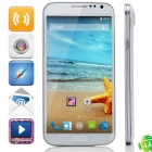 "H900 MTK6592 Octa-Core Android 4.4.2 WCDMA Bar Phone w/5.0"" IPS, 2GB RAM, 16GB ROM, GPS, OTG - White"