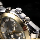 JARHGAR 2090 Automatic Machanical Wrist Watch - Silver + Golden
