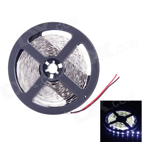 60W 1300lm 300-SMD 5630 LED White Light Lamp Strip (DC 12V / 5m)5630 SMD Strips<br>Form ColorWhiteColor BINCold WhiteMaterialCopper + ChipQuantity1 DX.PCM.Model.AttributeModel.UnitPowerOthers,60WRated VoltageDC 12 DX.PCM.Model.AttributeModel.UnitChip BrandOthersEmitter TypeOthers,5630 LEDTotal Emitters300Color Temperature7000KWavelengthNOActual Lumens1300 DX.PCM.Model.AttributeModel.UnitPower AdapterOthers,N/APacking List1 x Light Strip<br>