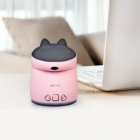 MOCREO MOSOUND Cubbit Waterproof Portable Wireless Bluetooth Speaker w/ Microphone, TF Slot - Pink