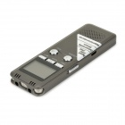 "LYB-700 1.2"" Screen Digital Voice Recorder w/ USB Cable + Earphone + Microphone - Taupe (8GB)"