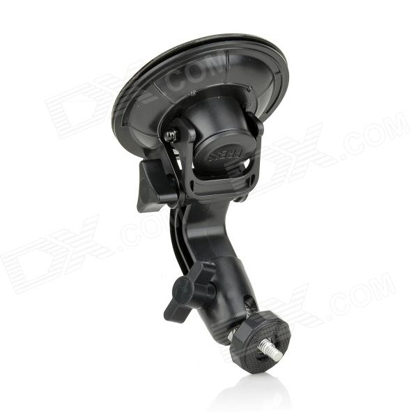 Universal 9cm Suction Cup Holder + Tripod Mount Adapter + Long Screw for GoPro Hero 1 / 2 / 3 / 3+