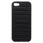Ladder Style Protective Silicone + PC Back Case Cover for IPHONE 5 / 5S - Black