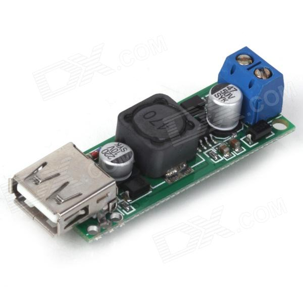 ZnDiy-BRY Z-189 DC 6~35V to 5V USB Voltage Step Down Regulator Module