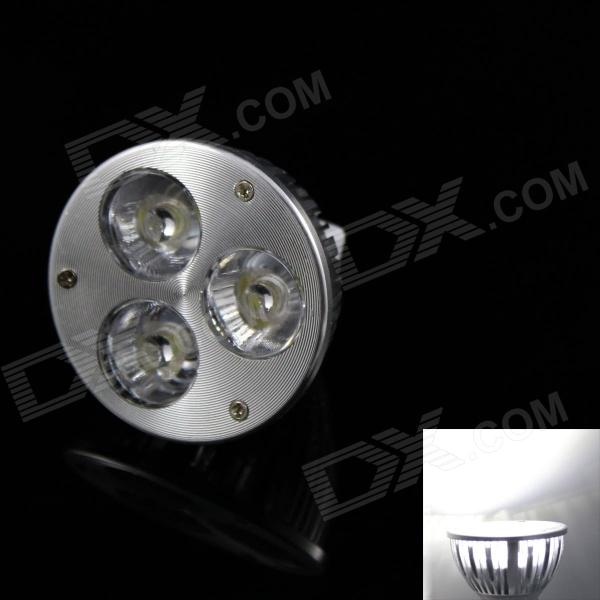 KINFIRE GX5.3 3W 240lm 3-LED Cold Hvit Spotlight Bulb (12V DC)