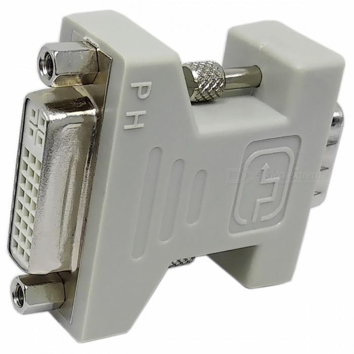 VGA Male to DVI 24+5 Female Adapter