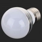 E27 3.5W 90lm RGB Light Dimmable Spotlight w/ Remote Controller - White + Silvery Grey (AC 85~265V)