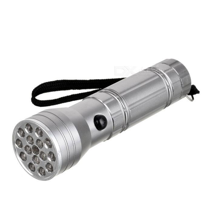 3-in-1 15+1 3xAAA Flashlight (10 White LED - 5 UV LED - Red Laser)