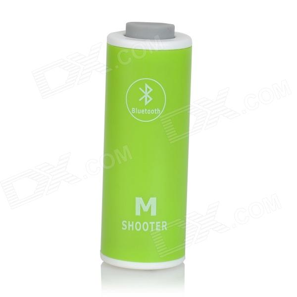 M-B01 Handy Wireless Bluetooth Selfie Shutter Release for Android Cellphone - Green + White