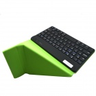 "BK168 7"" Bluetooth V3.0 59-Key Keyboard w/ PU Leather Case for iOS / Android / Windows Tablet PC"