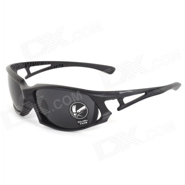 Oulaiou 3105-2 Women's Cycling Explosion-proof UV400 Protection Plastic Frame PC Lens Sunglasses