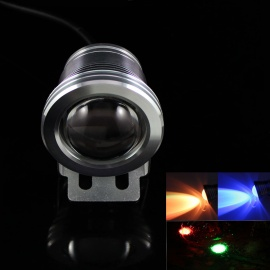 KINFIRE-IP66-9W-680lm-COB-RGB-Light-Project-Lamp-w-Remote-Controller-Silver-(DC-12V)
