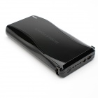 20800mAh Li-ion Battery Double USB Power Bank for IPHONE, Samsung, HTC, Xiaomi - Black