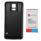 7800mAh-37V-Li-ion-Battery-With-Black-Dots-Battery-Cover-w-NFC-for-Samsung-Galaxy-S5-Black