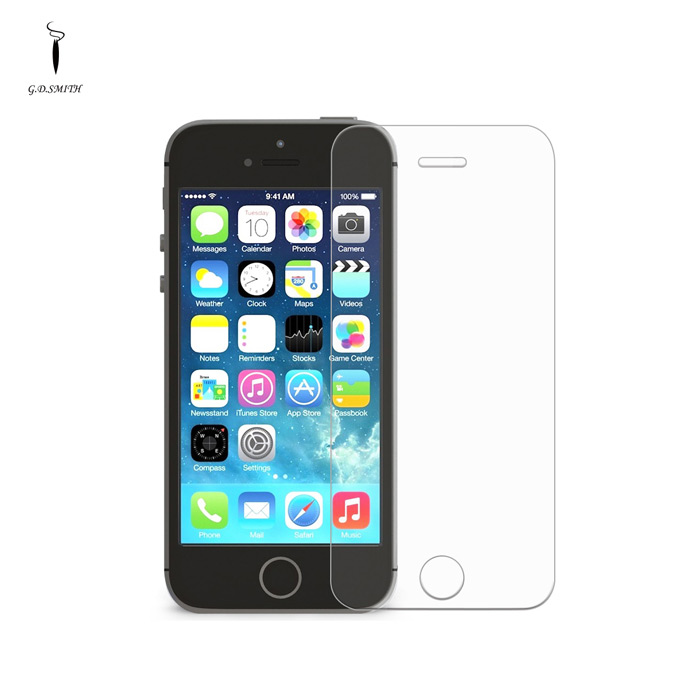 GODOSMITH 0.3mm beskyttende herdet Glass Screen Protector for IPHONE 5